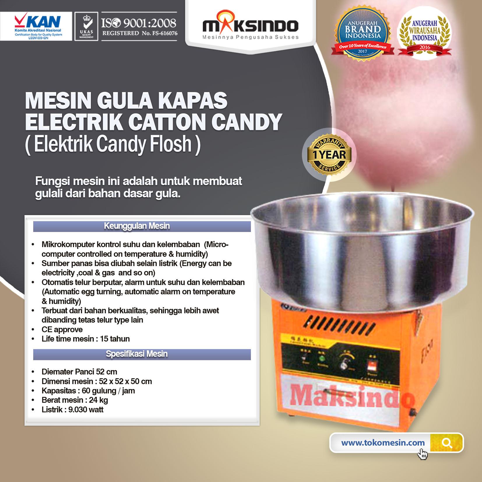 Mesin Gula Kapas Baru (Cotton Candy)