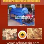 Jual Mesin Pengurai Sabut Kelapa di Tangerang