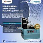 Jual Mesin Pad Printing Kode Kedaluwarsa (Coding Machine) di Tangerang