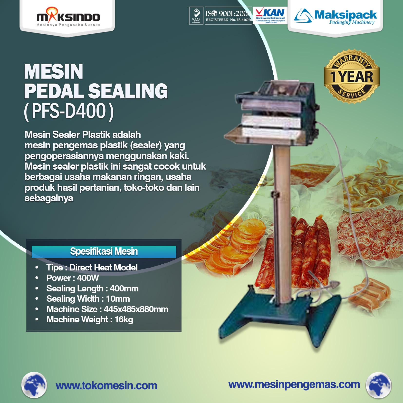 Pedal Sealing Machine (PFS-D400)