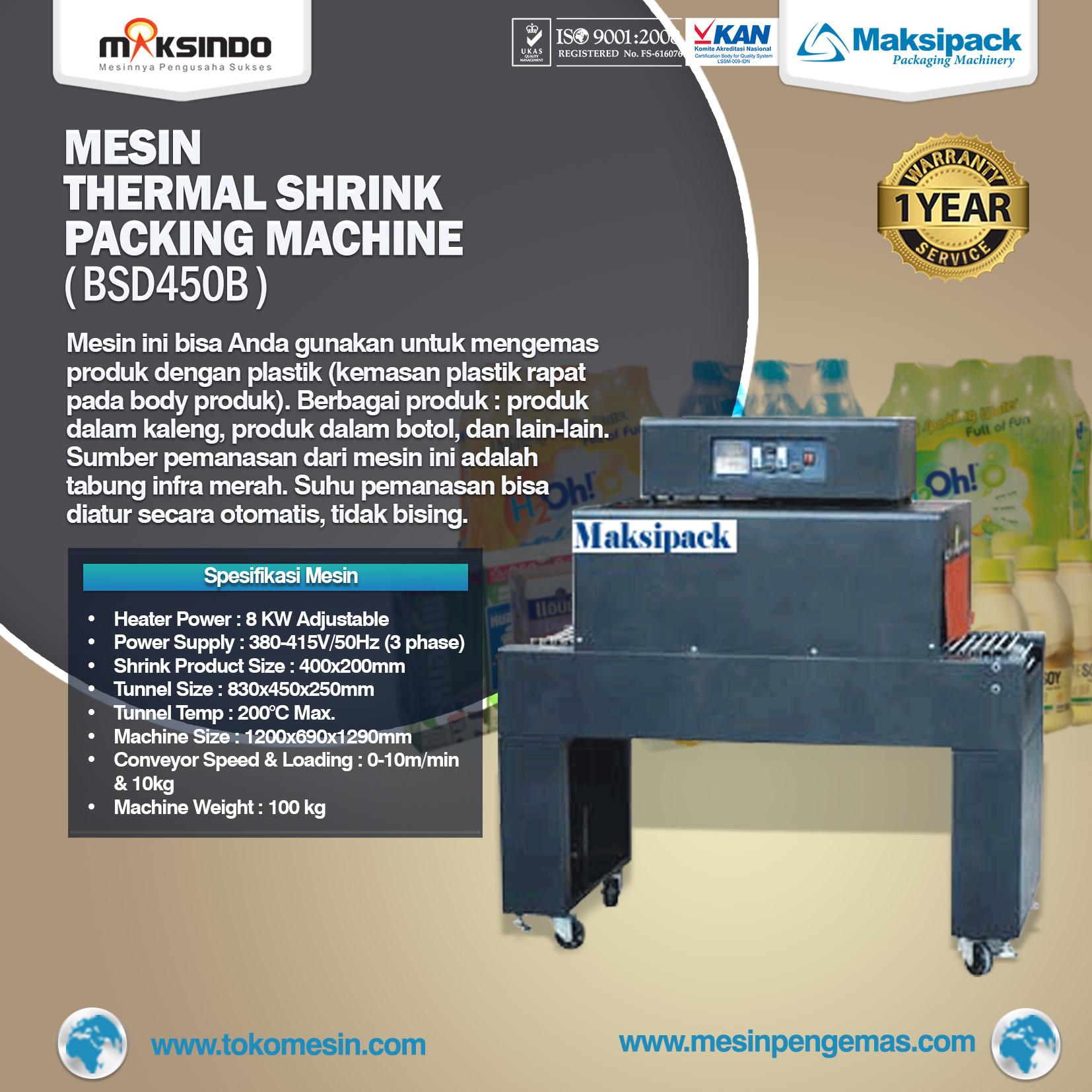 Thermal-Shrink Packing Machine (BSD450B)