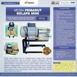 Jual Mesin Parut Kelapa Mini AGR-PRT25 di Tangerang