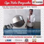 Jual Mesin Pengaduk Bumbu (Hexagonal) di Tangerang