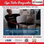 Jual Mesin Pasteurisasi Susu Dan Minuman di Tangerang