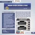 Jual Mesin Oven Listrik 2 Rak Harga Hemat (New) di Tangerang
