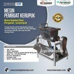 Jual Mesin Pembuat Kerupuk (Mixer dan Cetak) di Tangerang