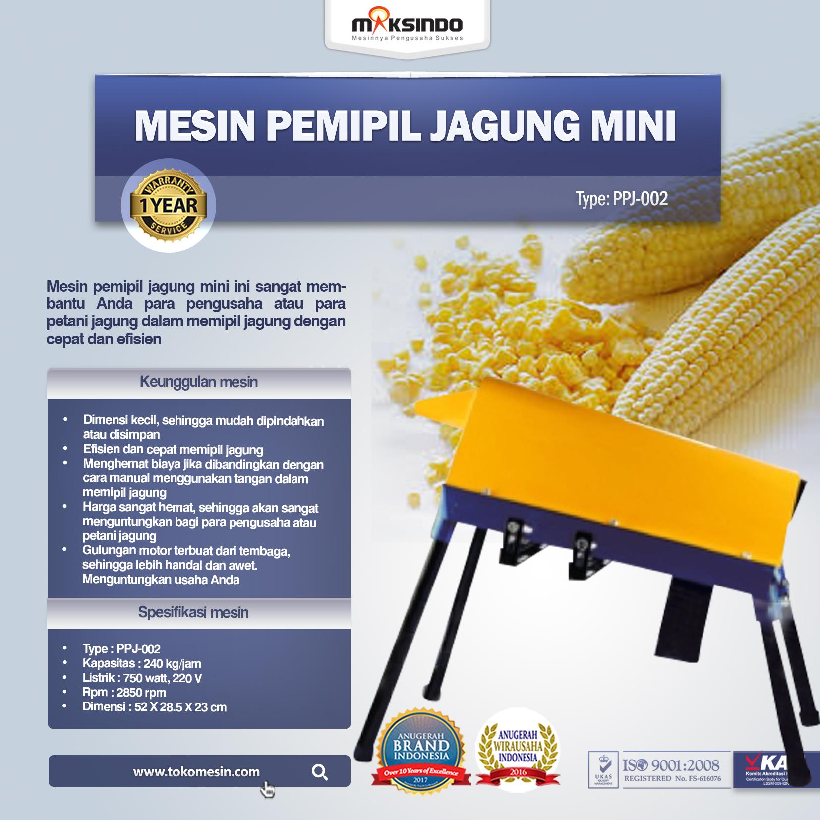 Mesin Pemipil Jagung Mini ( PPJ-002 )