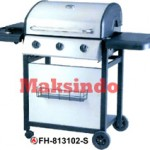 Jual Mesin Barbeku Gas Barbeque With Side Burner Di Tangerang