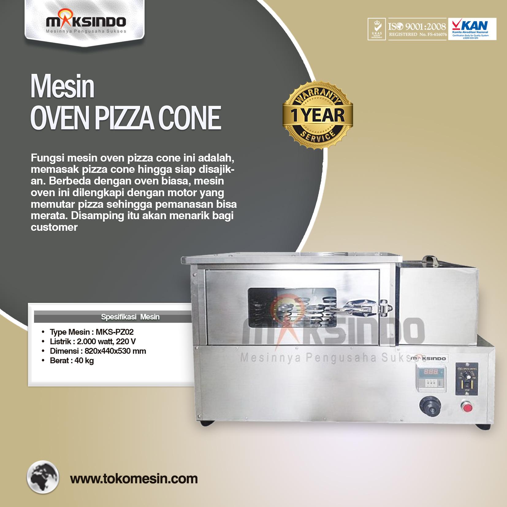 MESIN OVEN PIZZA CONE MKS-PZ02