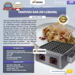 Jual Mesin Takoyaki Gas (56 Lubang) di Tangerang