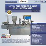 Jual Mesin Cup Sealer Otomatis 2 line dan 4 line di Tangerang