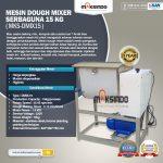Jual Mesin Dough Mixer Serbaguna 15 Kg (MKS-DMIX15) di Tangerang