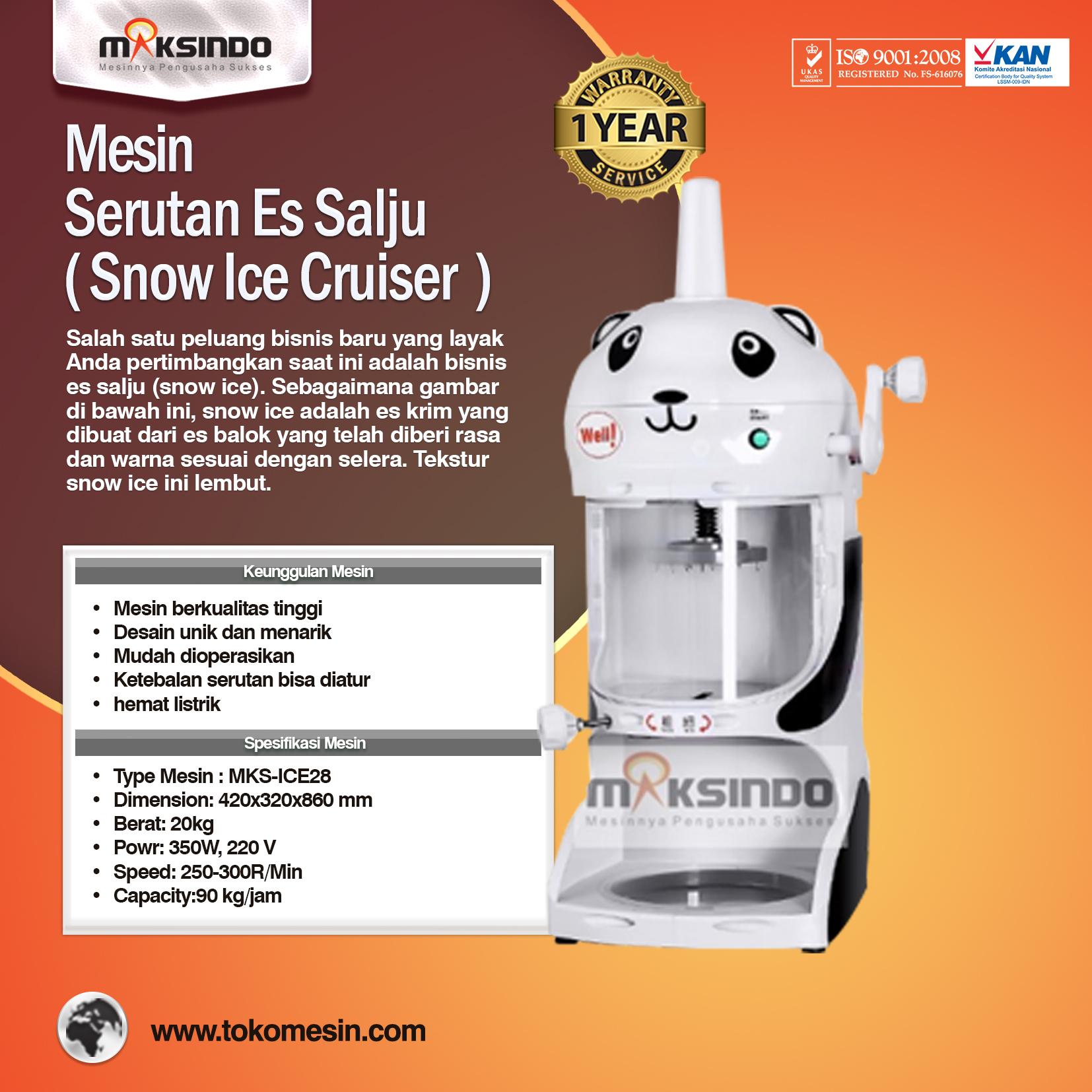 Mesin Serutan Es Salju MKS-ICE28