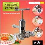 Jual Alat Cetak Mie dan Pasta Manual Stainless (ARDIN) di Tangerang