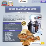 Jual Mesin Mixer Planetary 20 Liter NEW High Quality (MKS-BK20M) di Tangerang