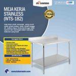 Jual Meja Kerja Stainless (WTS-182) di Tangerang