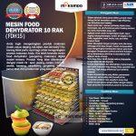 Jual Mesin Food Dehydrator 15 Rak (FDH15) di Tangerang