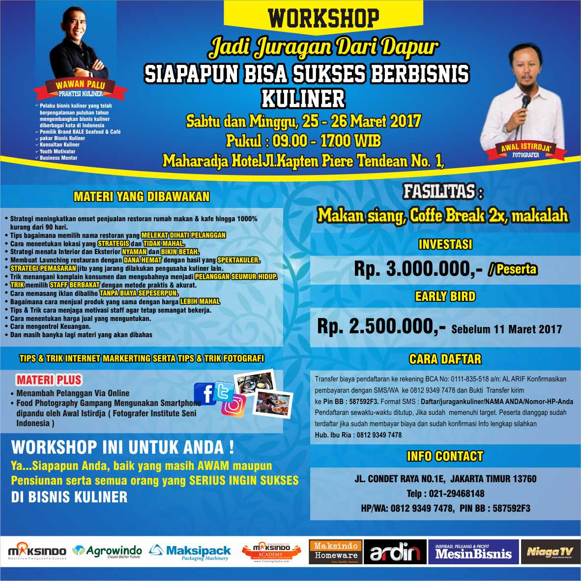 WORKSHOP INSTAGRAM