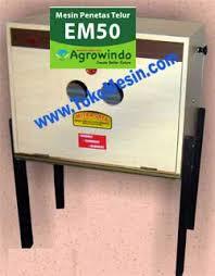 Jual Mesin Penetas Telur Manual 50 Butir (EM-50) di Tangerang