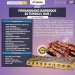 Jual Pemanggang BBQ 10 Tungku (Gas) di Tangerang