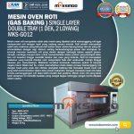 Jual Mesin Oven Gas 2 Loyang (MKS-GO12) di Makassar