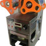 Jual Mesin Cup Sealer Full Otomatis Stainless (CPS-12A) di Tangerang
