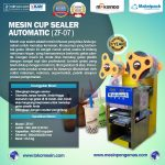 Jual Mesin Cup Sealer Semi Otomatis di Tangerang
