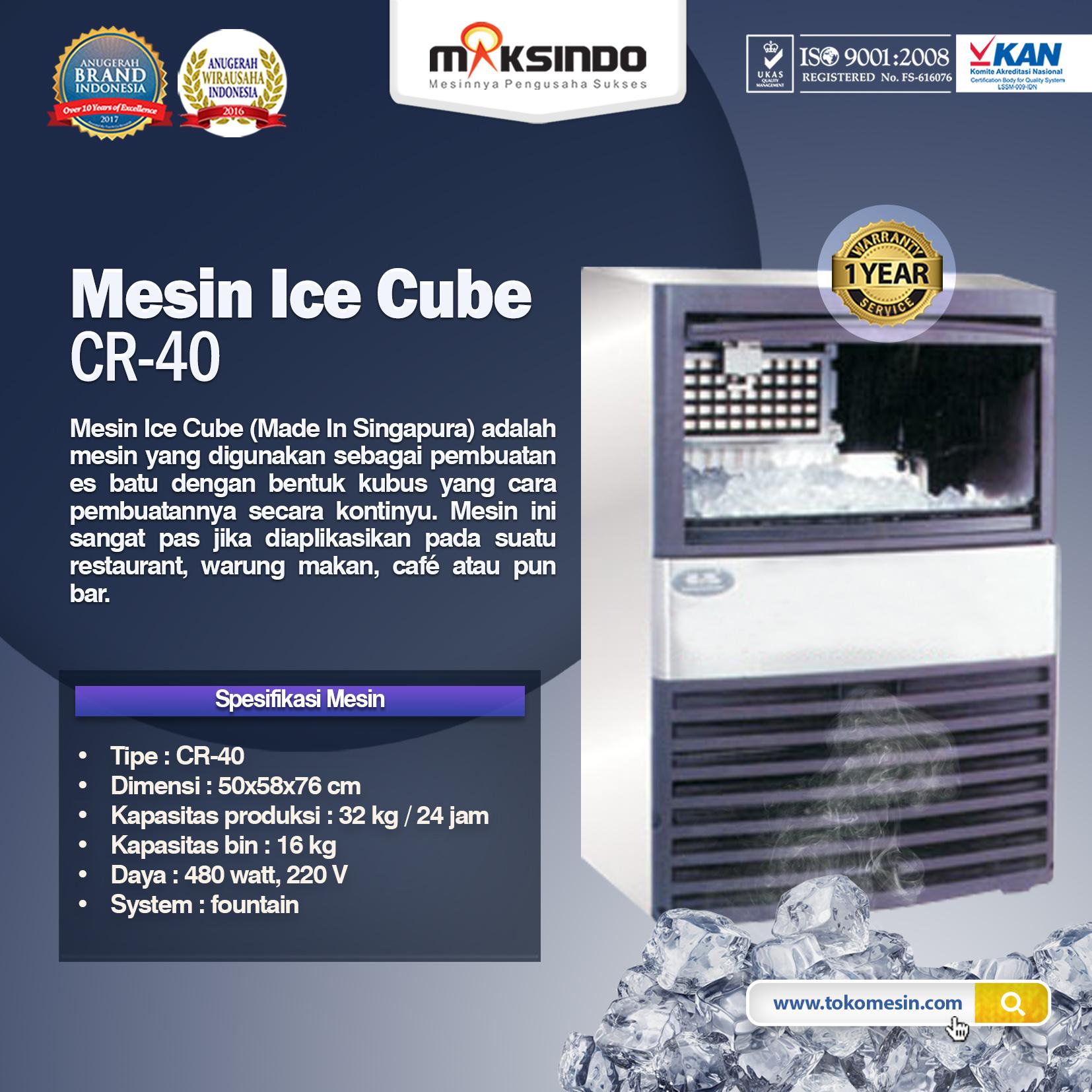 Mesin Ice Cube CR-40