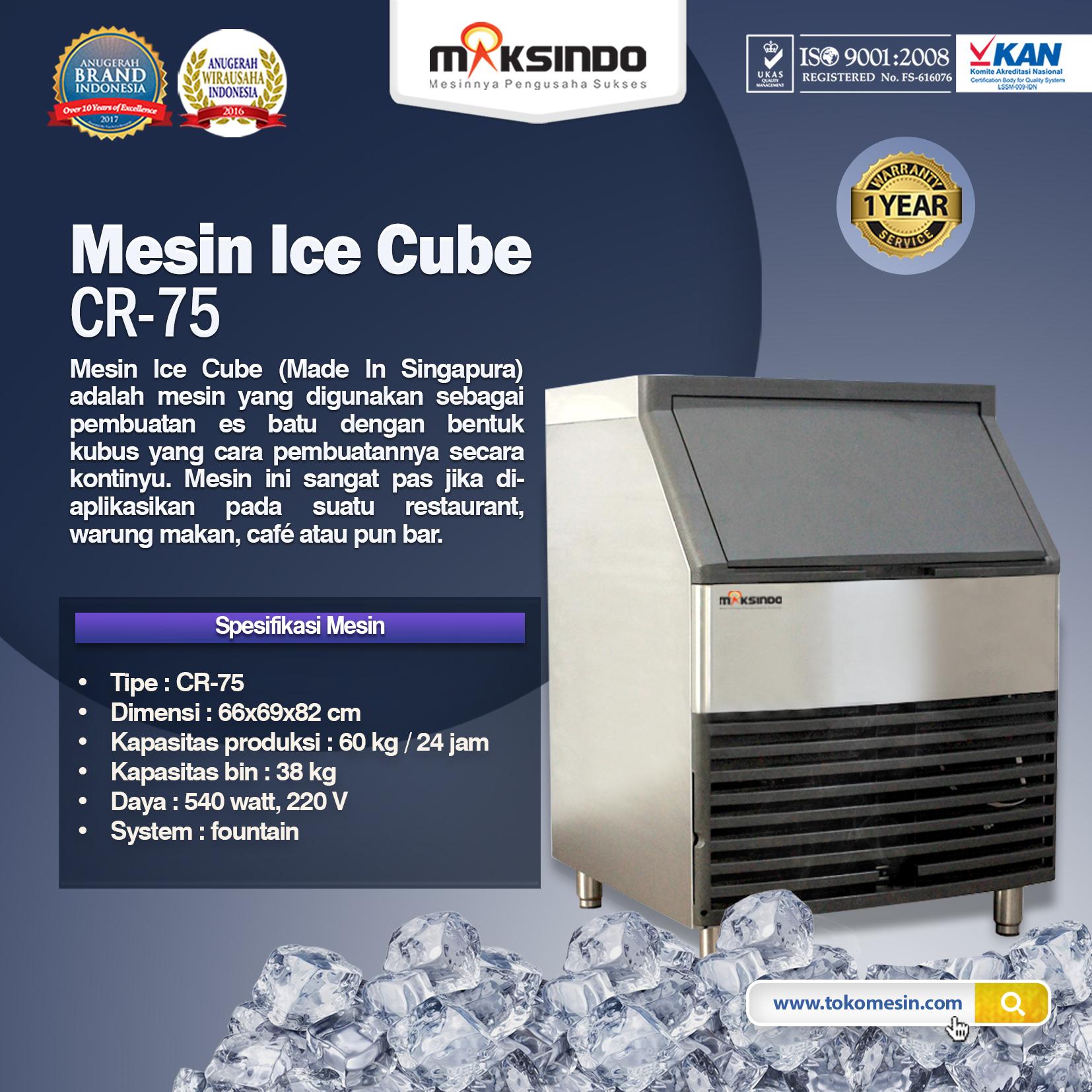 Mesin Ice Cube CR-75