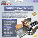 Jual Mesin Roti Tortilla/Pita/Chapati – TRT50 di Tangerang