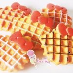Jual Mesin Waffle Bentuk Hello Kitty (Kitty2) di Tangerang