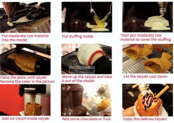 Mesin-Waffle-Taiyaki-Open-Mouth-ETYK1-6