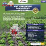 Jual Alat Tanam Jagung dan Biji-Bijian AGR-PN22 di Tangerang