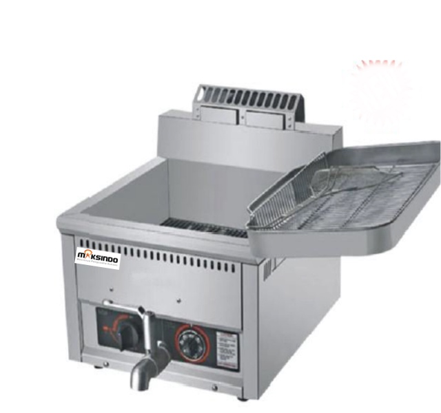 Mesin-Luxury-Gas Fryer-17-Liter-(MKS-G17B)-2