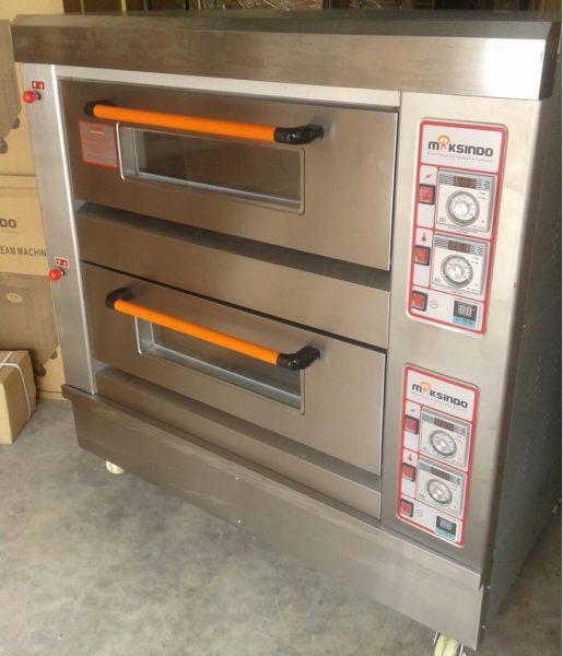 Jual Mesin Oven Roti Gas 2 Rak 4 Loyang (GO24) Di