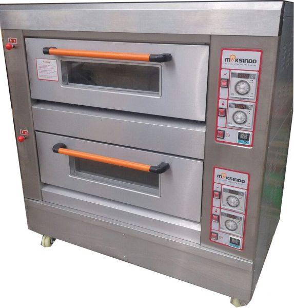 Mesin-Oven-Roti-Gas-2-Rak-4-Loyang-(GO24)