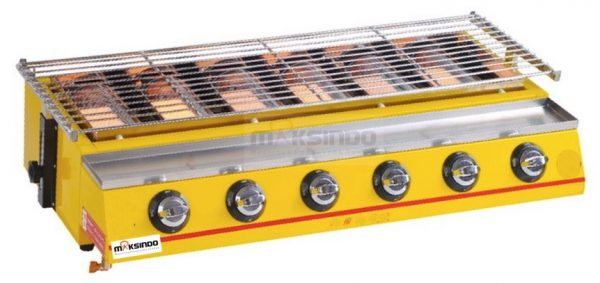 Mesin-Pemanggang-Sate-BBQ-6-Tungku-(Gas)-2
