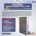 Jual Rice Cooker Kapasitas Besar 35 Kg 12 Rak di Tangerang