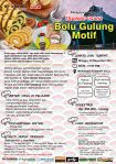 Training Usaha Bolu Gulung, 12 November 2017