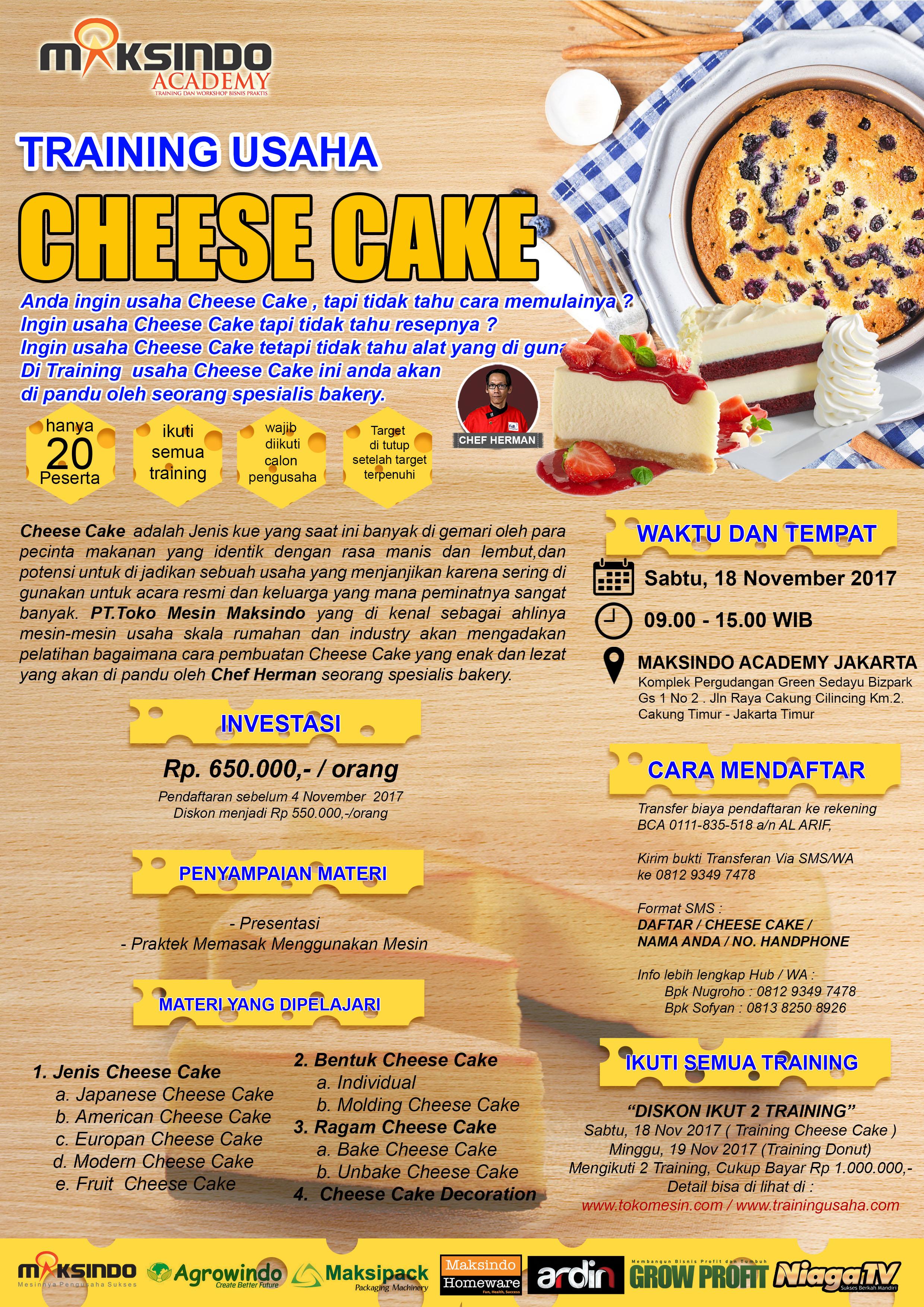 Cheese Cake November