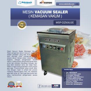 Jual Mesin Vacuum Sealer (DZ – 500/2 E) di Tangerang