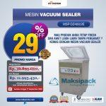 Jual Mesin Vacuum Sealer MSP-DZ400/2E di Tangerang