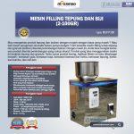 Jual Mesin Filling Tepung dan Biji (2-100gr) di Tangerang