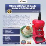 Jual Mesin Serutan Es Salju (Snow Ice) Taiwanese di Tangerang