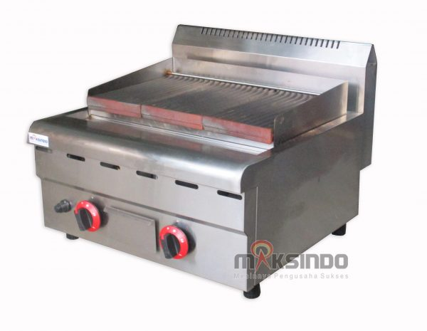 Counter Top Gas Lava Rock Grill MKS-603GL-2