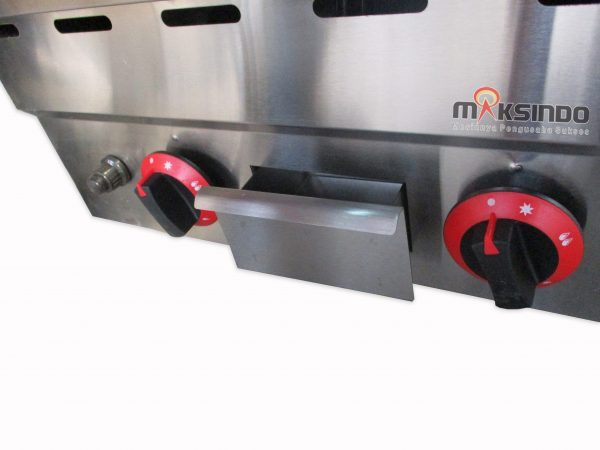 Counter Top Gas Lava Rock Grill MKS-603GL-4