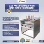 Jual Gas Pasta Cooker With Bain Marie (4 Baskets) MKS-PCBM4 di Tangerang