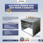 Jual Gas Pasta Cooker With Bain Marie (6 Baskets)MKS-PCBM6 di Tangerang