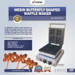 Jual Mesin Butterfly Shaped Waffle Maker (MKS-BFLYW12) di Tangerang