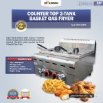 Jual Counter Top 2-Tank 2-Basket Gas Fryer di Tangerang